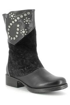 Bottes Onako Mi-Boots en cuir et nubuck avec clous(127942874)