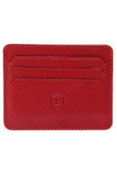 Cotton Bar Erkek Deri Kırmızı Cüzdan(113950642)