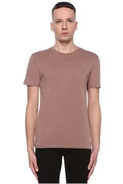 Allsaints Erkek Tonic Pembe Basic T-shirt M EU(107864098)