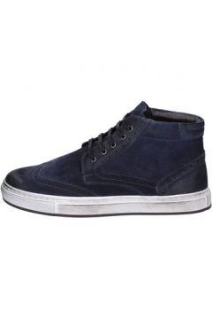 Chaussures Bruno Verri sneakers bleu daim ay76(98485847)