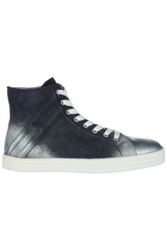 Women's shoes high top suede trainers sneakers r141(77307327)