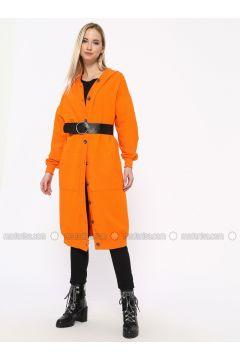 Orange - Unlined - Viscose - Topcoat - Missemramiss(110330943)