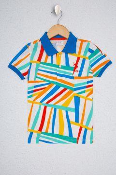U.S. Polo Assn. Beyaz Erkek Çocuk T-Shirt(125087595)