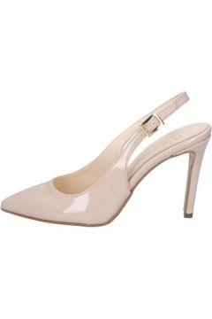 Sandales Olga Rubini sandales beige cuir verni BY286(115401082)
