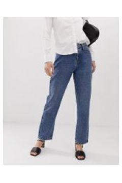 Tomorrow - Jeans dritti in cotone biologico-Blu(112835306)