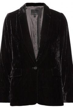 Velvet Soft Blazer Blazer Jackett Schwarz BANANA REPUBLIC(114152397)