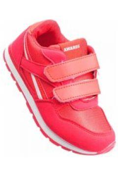 Pantofelek24.pl | Dziecięce buty sportowe na rzepy CZERWONE(112082450)