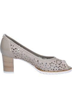 Chaussures escarpins Lady Soft escarpins beige cuir cuir verni BX586(115442589)