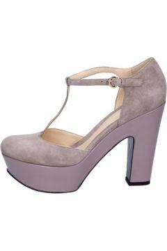 Chaussures escarpins Lella Baldi escarpins beige daim ay172(115443234)