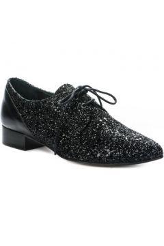 Chaussures Ambiance Chaussures à lacets femme - - Noir - 36(127924649)