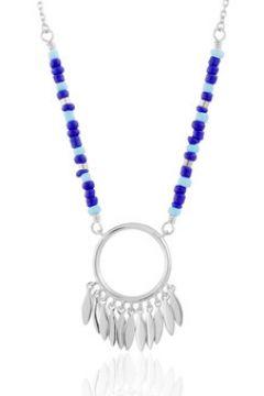 Collier Tipy Collier en Argent 925/1000 et Perle Bleue Femme(115489293)