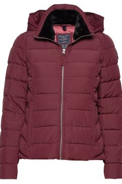 Packable Puffer Coat Gefütterte Jacke Rot ABERCROMBIE & FITCH(114157086)