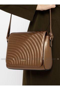 Brown - Shoulder Bags - Kayra(110317941)