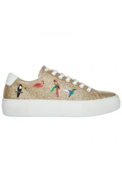 Women's shoes leather trainers sneakers victoria tropical(77303470)