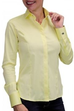 Chemise Andrew Mc Allister chemise bouton metal new weave jaune(115424527)