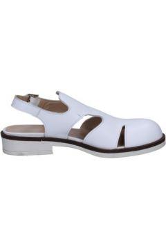 Sandales Francesco Minichino sandales blanc cuir BT789(115442907)