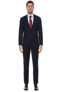 Network Erkek Slim Fit Drop 6 Lacivert Yün Takım Elbise 46-6N EU(117771754)