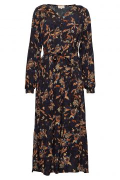 Birla Dress Kleid Knielang Schwarz MINUS(114164197)