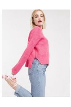 Whistles - Maglione oversize a coste-Rosa(120358309)