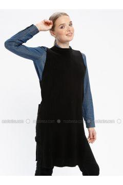 Black - Crew neck - Knitwear - REPP(110337765)