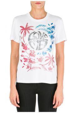 Women's t-shirt short sleeve crew neck round love me wild(116935635)