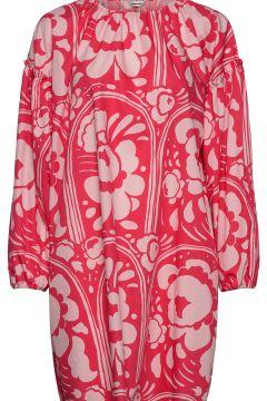 LÄNsi Karuselli Dress Kurzes Kleid Pink MARIMEKKO(116997423)