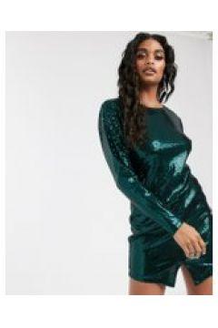 Ivyrevel - Vestito corto verde scuro con paillettes(120334494)