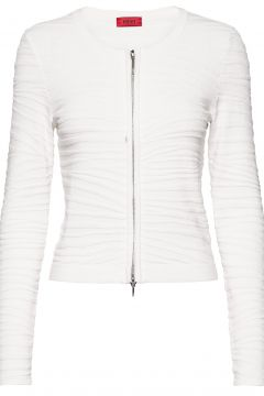 Sistiny Cardigan Strickpullover Weiß HUGO(98254192)