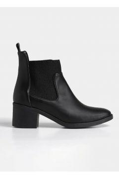 Hotiç Siyah Yaya Kadın Bot & Çizme(124472677)
