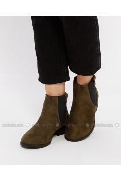 Khaki - Boot - Boots - Koton(110322267)