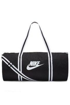 Nike Erkek Heritage Siyah Beyaz Logolu Seyahat Çantası EU(113465034)