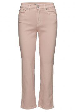 Stella Cropped Coloured Denim Straight Jeans Hose Mit Geradem Bein Pink FILIPPA K(108941336)