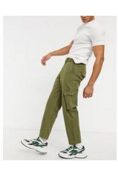 Native Youth - Eli - Pantaloni cargo color kaki-Verde(127295765)