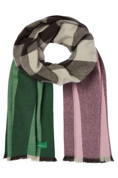 Écharpe Femme Joules Berkley - Pink Green Check(111330319)