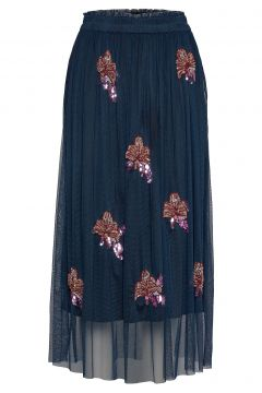 Gabbi Skirt Langes Kleid Blau UNMADE COPENHAGEN(116303851)
