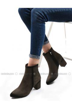 Khaki - Boot - Boots - Sapin(110326018)