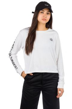 Element Timber Crop Long Sleeve T-Shirt wit(95390329)