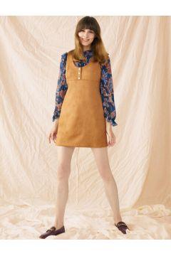 Koton Kadın Süet Görünümlü Elbise(121470208)