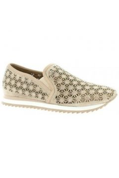 Chaussures Femme Plus Baskets cuir velours(115612120)