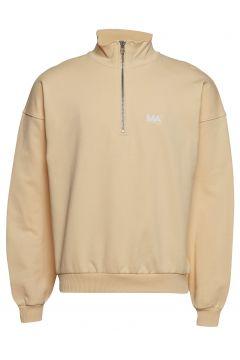 Jeremy Turtleneck Sweat-shirt Pullover Beige MARTIN ASBJØRN(114152600)