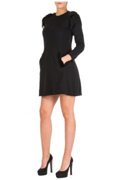 Women's short mini dress long sleeve(118071847)