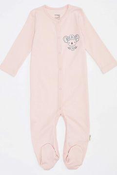 DeFacto Kız Bebek Organik Yeni Doğan Tulum(125928535)