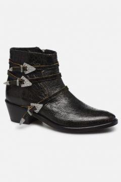 Zadig & Voltaire - Pilar Used St - Stiefeletten & Boots für Damen / schwarz(111588317)
