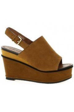Sandales Elvio Zanon Nu pieds cuir velours(115612578)
