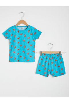 Bebek Erkek Bebek Baskılı Pijama Takımı(127089005)