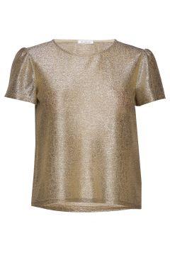 Wesley Top Blouses Short-sleeved Gold IDA SJÖSTEDT(114355444)