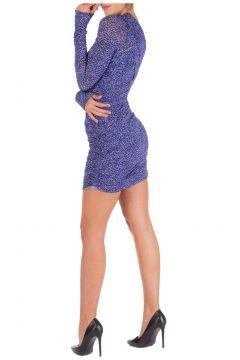 Women's short mini dress long sleeve(118298781)