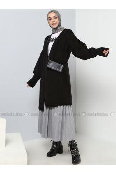 Black - Cotton - Acrylic -- Cardigan - Benin(110328131)