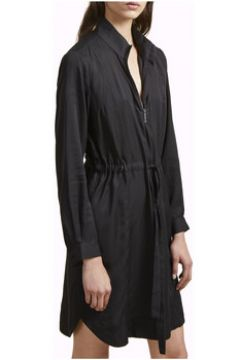 Robe French Connection Robe col mao manches longues(98488077)