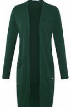 Strickjacke ohne Kragen Emilia Lay dunkelgrün(111504072)